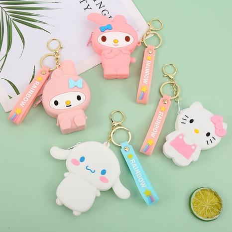 Fashion cartoon animal mini silicone wallet NHAE353774's discount tags