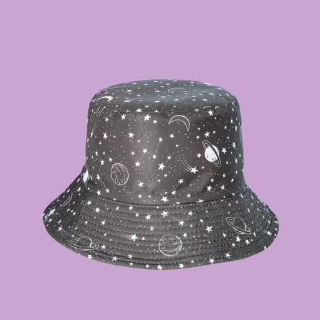 Mode koreanischen neuen Stil breitkrempigen Sonnenschirm doppelseitigen Fischerhut NHTQ353792's discount tags