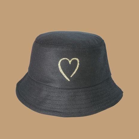 Leopardenmuster der koreanischen Mode im neuen Stil trendiger Liebesfischerhut mit breiter Krempe NHTQ353798's discount tags