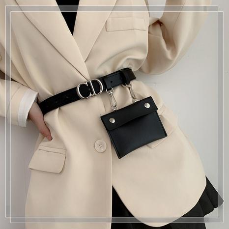 Mode abnehmbare kleine Taschen dekorative Briefgürtel Großhandel NHWP353862's discount tags
