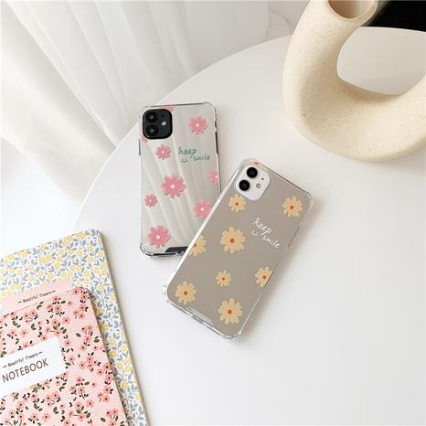 fashion daisy flower printing mirror mobile phone case  NHFI353694's discount tags