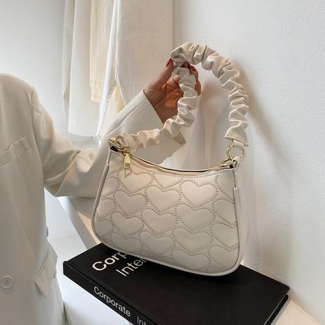 Modekette faltet einfarbige Umhängetasche NHJZ354226's discount tags