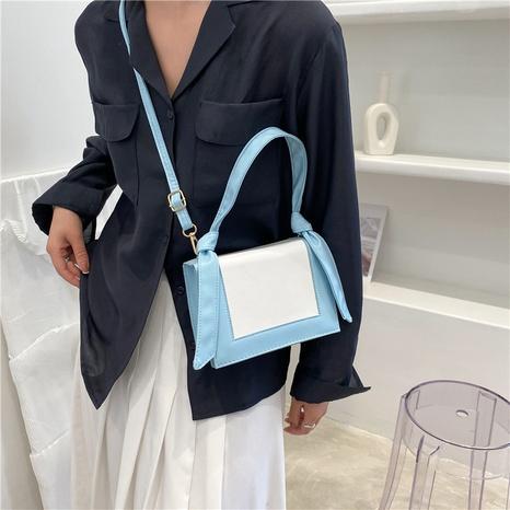 Mode Nähte Kontrastfarbe Bowknot Diagonal Tasche NHXC354256's discount tags