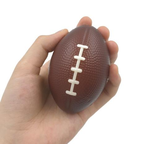 9cm PU foam football decompression venting feel toy sponge foam bouncy ball NHZHI354308's discount tags