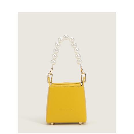 Mode Perlenkette einfarbig Schulter Umhängetasche NHASB354404's discount tags