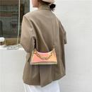 fashion laser transparent single shoulder messenger bag NHXC354495