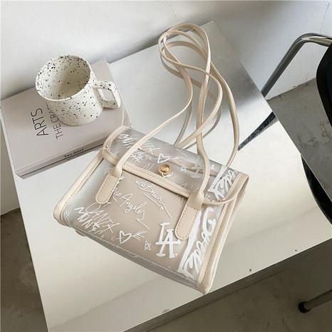 Mode transparente Gelee-Tasche mit großer Kapazität NHXC354496's discount tags