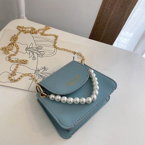 Koreanische Perlengriff-Umhängetasche mit einer Schulter NHXC354504's discount tags