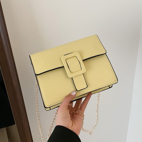 Mode einfarbig One Shoulder Messenger kleine quadratische Tasche NHXC354515's discount tags