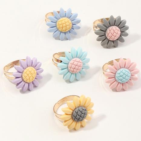 Juego de anillos de resina de moda princesa de dibujos animados lindo para niños NHNU355444's discount tags