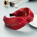 fashion style new knotted retro simple broadsided headband NHLN355153