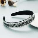 Korean new fashion starry rhinestone simple headband NHLN355152