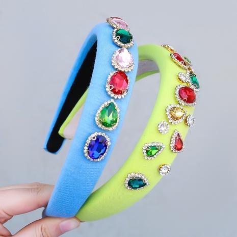 Neues rundes Strass-Stirnband aus Diamant im koreanischen Modestil NHJE355197's discount tags
