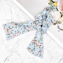 Korean style small flower bow streamer hair scrunchies  NHCL355300