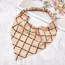 fashion style new lattice triangle scarf hair band NHCL355315