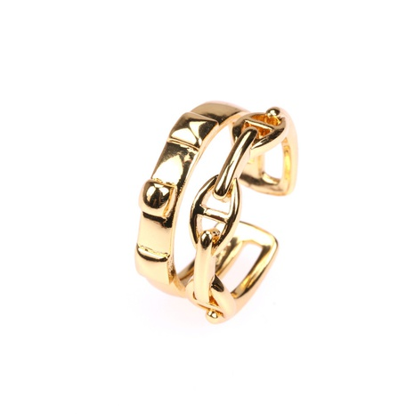 fashion opening adjustable geometric multilayer copper ring  NHPY355358's discount tags