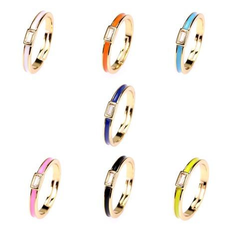 retro square copper zircon ring wholesale  NHPY355363's discount tags