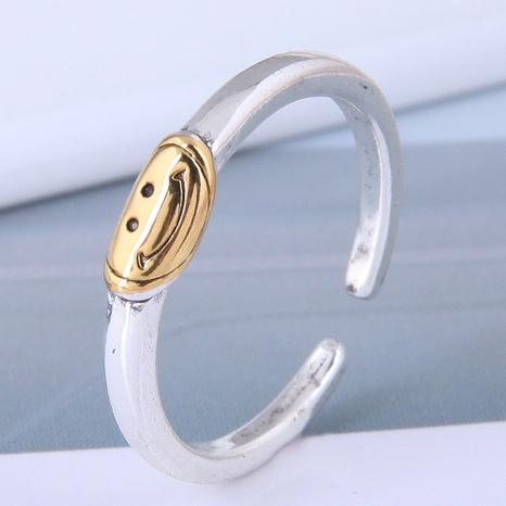 neuer Stil Mode einfacher süßer Smiley offener Ring NHSC355936's discount tags