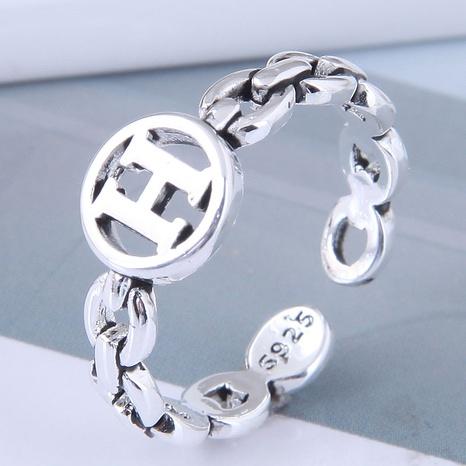 neuer Stil Mode einfachen Retro offenen Ring NHSC355934's discount tags