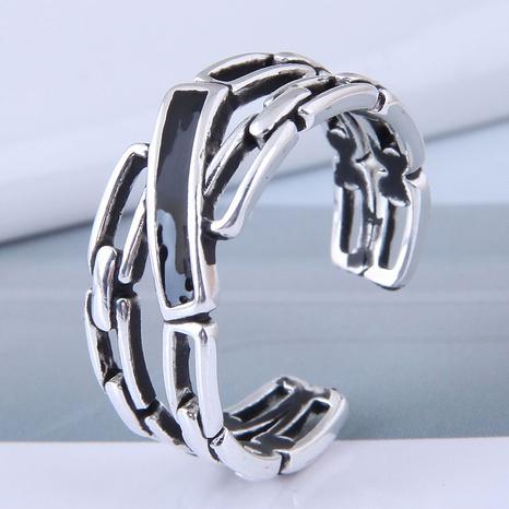 neuer Stil Mode einfachen Retro offenen Ring NHSC355931's discount tags