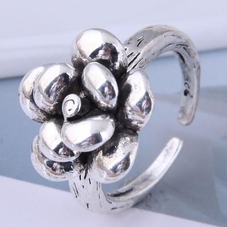 neue Art Mode einfache Retro Blütenblatt offenen Ring NHSC355927's discount tags
