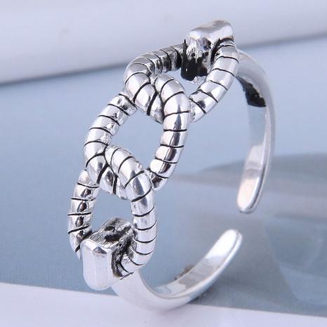neuer Stil Mode einfachen Retro offenen Ring NHSC355926's discount tags