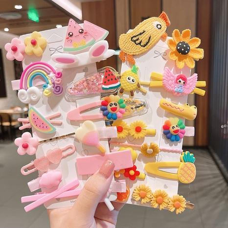 Haarspange der koreanischen Artkarikaturblumenkinder NHSA355771's discount tags