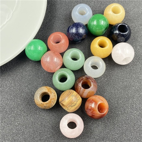 20mm large hole beads DIY hairpin bracelets pendant jewelry accessories NHJIC356041's discount tags