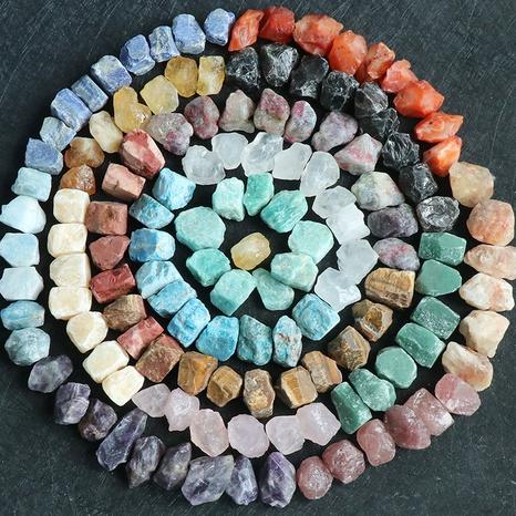 Kristallachat Jade rohes Erz Hand klopft rohen Stein sieben Chakra Energie Lehrmaterialien Großhandel NHKES356046's discount tags