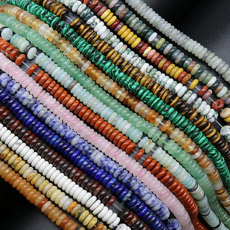 Naturkristall Achat Halbedelsteine 2*6mm Perlen DIY Schmuck Zubehör 160 Stück Großhandel NHKES356060's discount tags