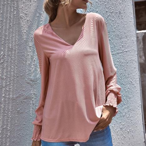 Sweat-shirt en fil Barbie rose de style nouveau NHZN356088's discount tags