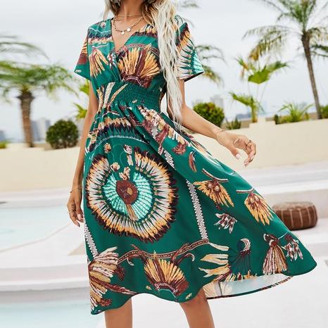 style bohème nouvelle mode nouvelles robes d'impression NHZN356083's discount tags