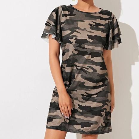 Nouvelle robe de camouflage de style de mode d'été NHZN356082's discount tags