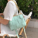 new wave fashion woven chain messenger square bag NHLH356355