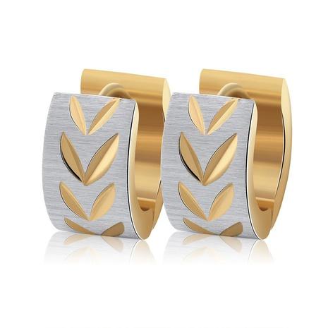 Boucles d'oreilles en diamant en acier inoxydable simples de style de mode NHKL356493's discount tags