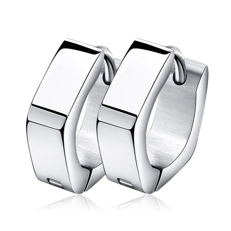 nouvelles boucles d'oreilles Pentagone en acier inoxydable de style mode NHKL356494's discount tags