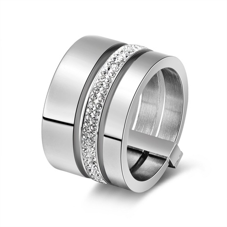 creative fashion style new stainless steel ring NHKL356500's discount tags