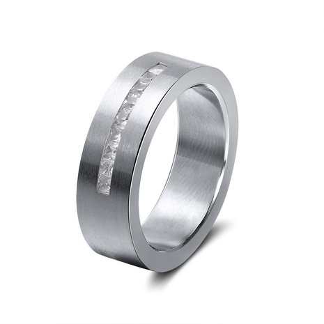 simple style creative fashion stainless steel ring  NHKL356513's discount tags