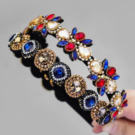 geometrisches Stirnband der Retro-Diamantblume NHJE357083's discount tags