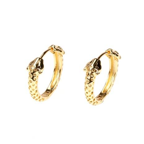 fashion diamond double-headed snake earrings wholesale  NHPY357136's discount tags