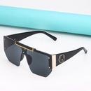 fashion large frame onepiece sunglasses wholesale  NHLMO357610