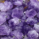 Natural Amethyst Cluster Pendent Wholesale NHKES357889