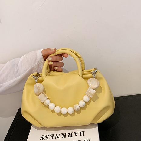 sac de messager en perles à plier portable à la mode NHLH357951's discount tags