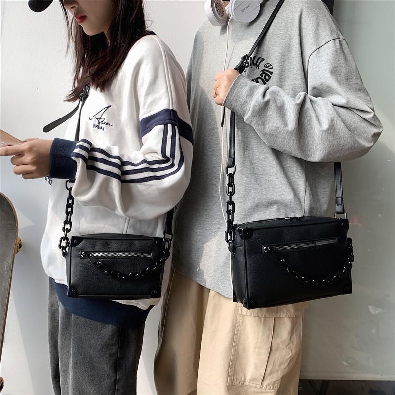 Korean style messenger shoulder chain small square bag Wholesale  NHLH358011