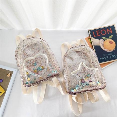 sac à dos transparent en pvc à paillettes de mode NHAV358197's discount tags