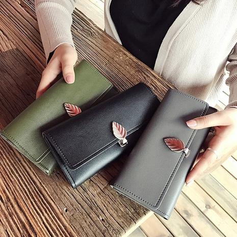 Porte-monnaie porte-monnaie portefeuille pu portefeuille grande capacité sac de téléphone portable NHAV358256's discount tags