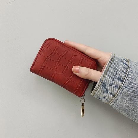 Porte-monnaie été rétro main tenant un portefeuille à glissière NHAV358258's discount tags