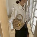 Mode tragbare Korbtasche aus Stroh NHAV358278
