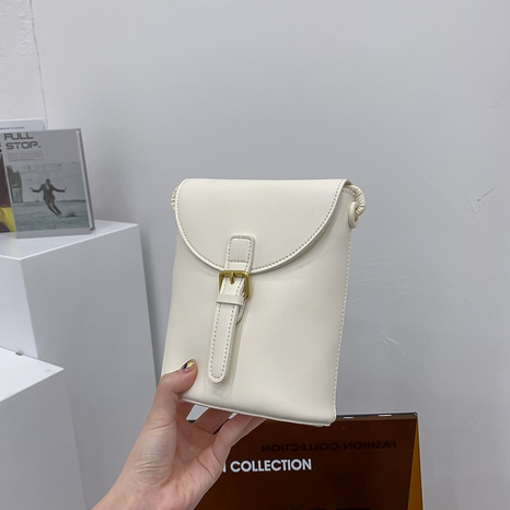 Mode-Stil mehrfarbige vertikale Handy diagonal kleine Tasche NHJZ358419's discount tags
