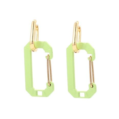 Boucles d'oreilles en cuivre trombone à épingle de couleur coréenne NHWG358826's discount tags
